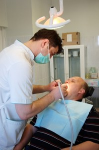 Dentists use nitrous oxide to calm mildly anxious patients.